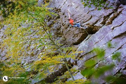 Joel Unema on Shiva, Muir Valley, KY photo Nathan Welton