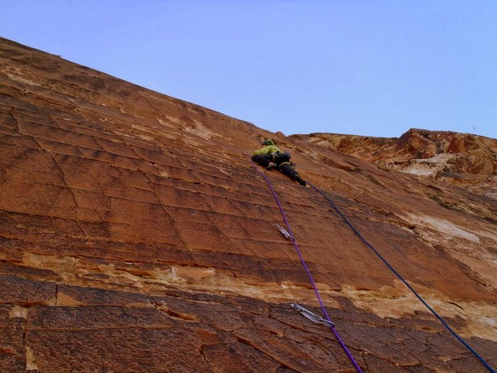 Nik Berry on Crystal Dawn, Red Rocks, NV
