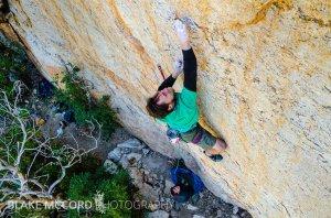 Alex Kirkpatrick on the FA of The Broken Blade 5.13d Mt Lemmon, AZ