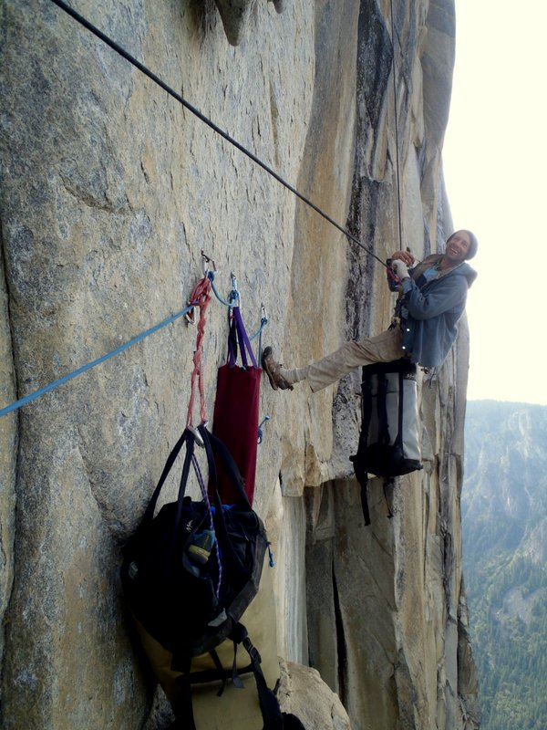David Bloom at the Tower to the People, Golden Gate, Yosemite Valley.